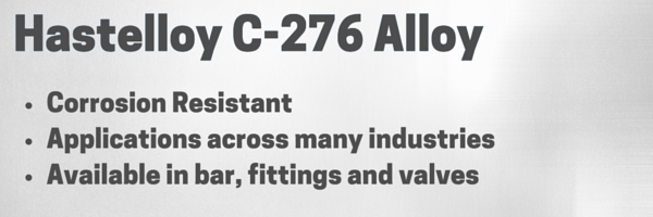 hastelloy c276 alloy