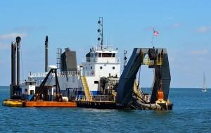 dredger boat marine industry